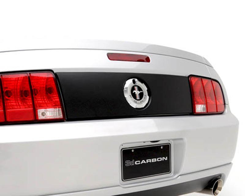 Image of 3dCarbon Rear Tail Light Blackout Panel Ford Mustang GT V6 05-09