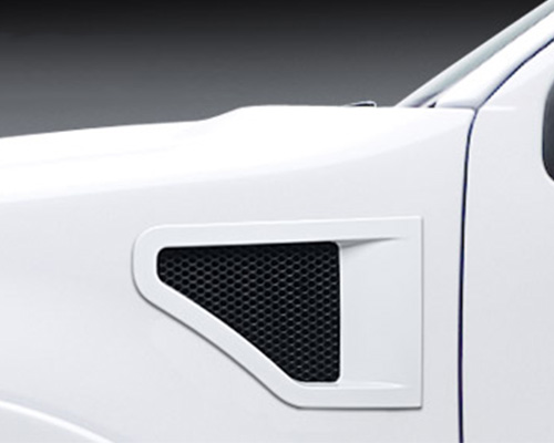3dCarbon Front Fender Vents Type II Without Horizontal Cross Bar Ford F-150 04-08 - 691119
