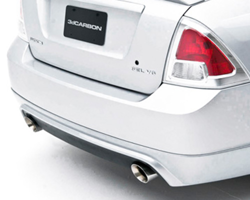 Image of 3dCarbon Chrome Exhaust Extensions Ford Fusion V6 06-09