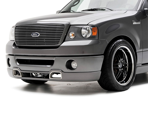 3dCarbon Front Air Dam Dual Exhaust Ford F-150 06-08 - 691523