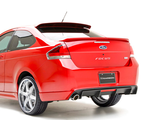 Image of 3dCarbon Rear Lower Ford Focus 2 Door 09-11