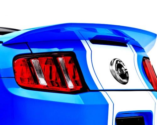 Image of 3dCarbon 3d500 Rear Spoiler Ford Mustang 10-14