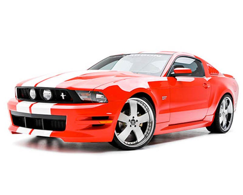 3dCarbon 5PC Body Kit Ford Mustang GT & V6 10-12 - 691614