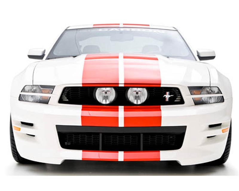 3dCarbon Front Bumper Replacement Mustang GT & V6 10-12 - 691609