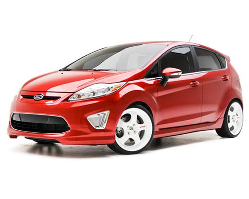 3dCarbon 4PC Body Kit Ford Fiesta 11-13