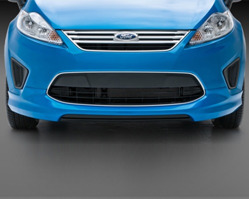 3dCarbon Front Air Dam Ford Fiesta 11-13 - 691621