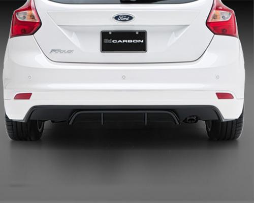 Image of 3dCarbon Rear Lower Ford Focus 5 Door Hatchback 11-13