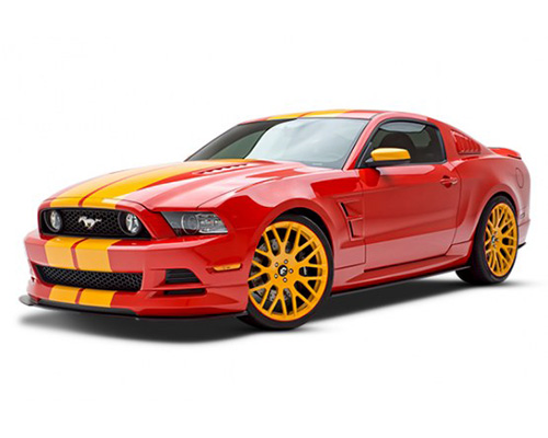 3dCarbon Boy Racer 4 Piece Body Kit Ford Mustang 13-14 - 692019