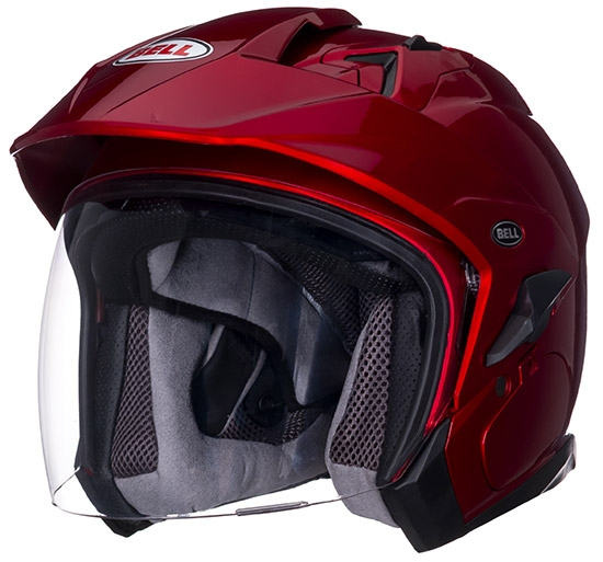 Image of Bell Racing Mag-9 Sena Candy Red Helmet 2XL 62-63