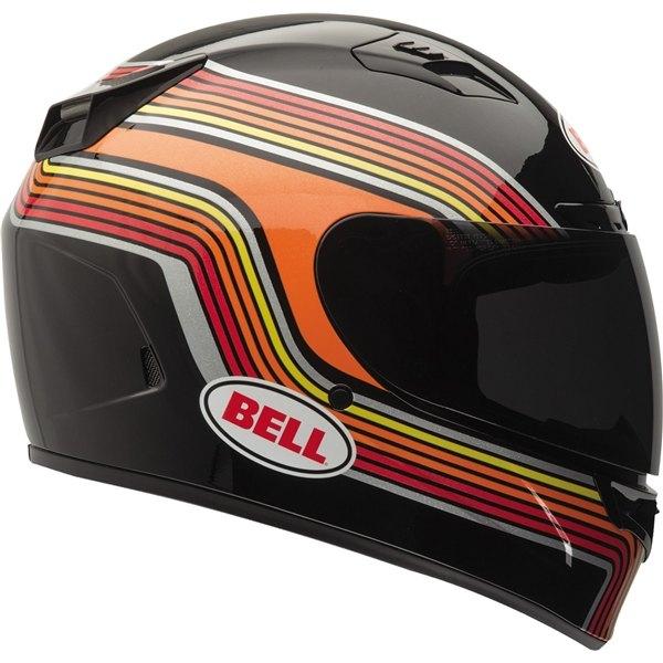 Image of Bell Racing Vortex Band Black Helmet 2XL 62-63