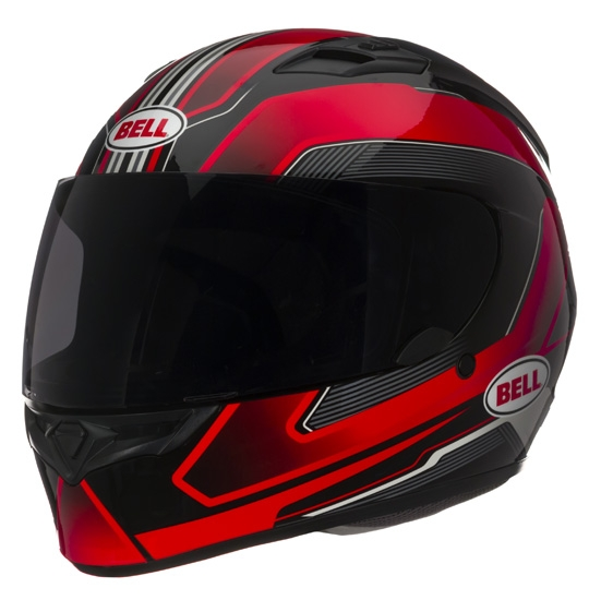 Image of Bell Racing Qualifier Cam Red Helmet MD 57-58