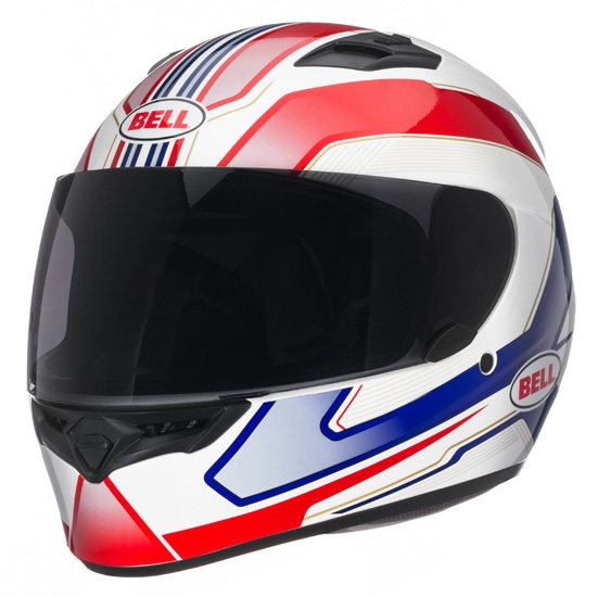 Image of Bell Racing Qualifier Cam Blue Helmet 2XL 62-63