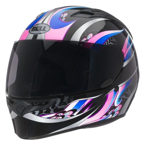 Image of Bell Racing Qualifier Coalition Black Pink Helmet 2XL 62-63