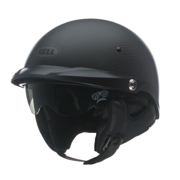 Image of Bell Racing Pit Boss Carbon Matte Helmet MD 57-58