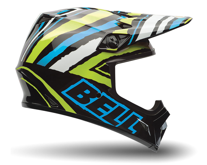 Bell Racing MX-9 Scrub Psyco Helmet 62-63 | 2XL