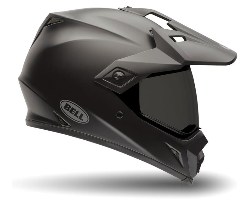 Bell Racing MX-9 Adventure Solid Matte Black Helmet 54-55 | XS - Bell-7061436
