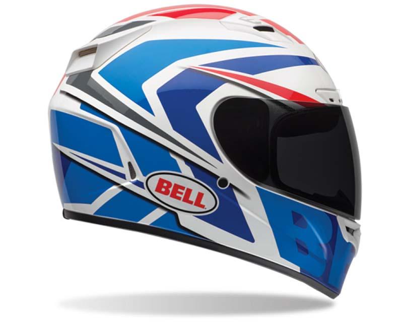 Bell Racing Vortex Grinder Blue Solid Helmet 54-55 | XS - Bell-7061724