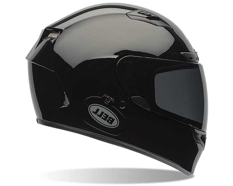 Bell Racing Qualifier DLX Solid Black Helmet 54-55 | XS - Bell-7061924