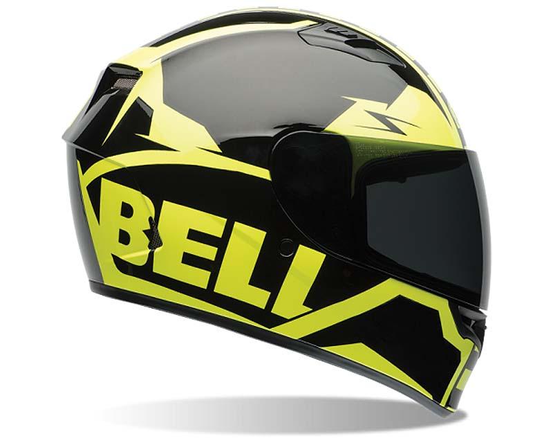 Bell Racing Qualifier Momemtum HI-VIS Helmet 55-56 | SM - Bell-7062068