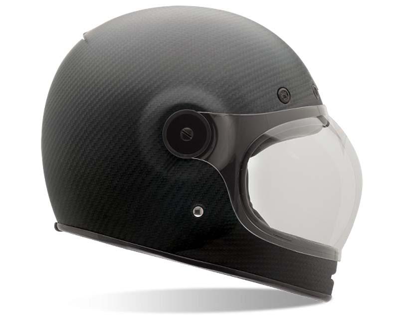 Bell Racing Bullitt Matte Carbon Helmet 58-59 | LG - Bell-7062219