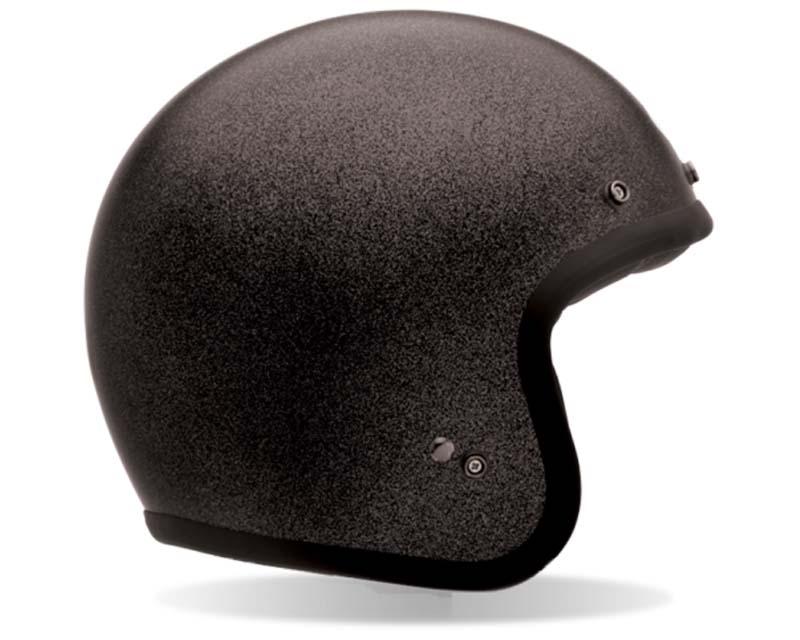 Bell Racing Custom 500 Black Flake Helmet 55-56 | SM - Bell-7062356