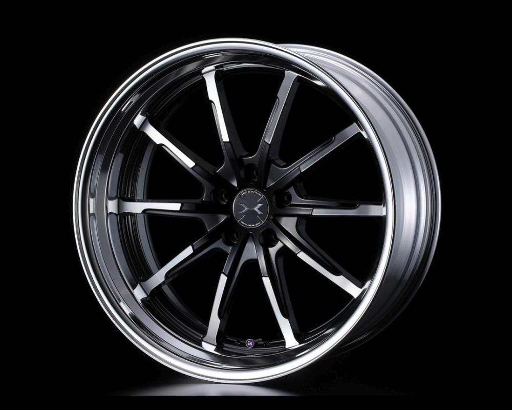 Weds 710S SL-Disk Wheel Maverick 18x8 5x114.3 25-55mm Reverse Rim - 710S18x85x114.3SLDISKRR