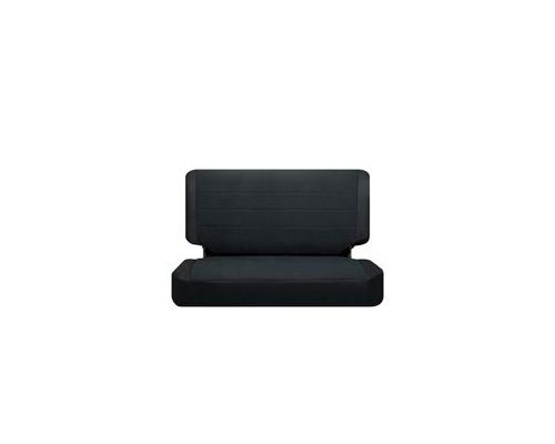 Corbeau TJ 03 06 Jeep Seat Covers Black Vinyl Cloth 82011