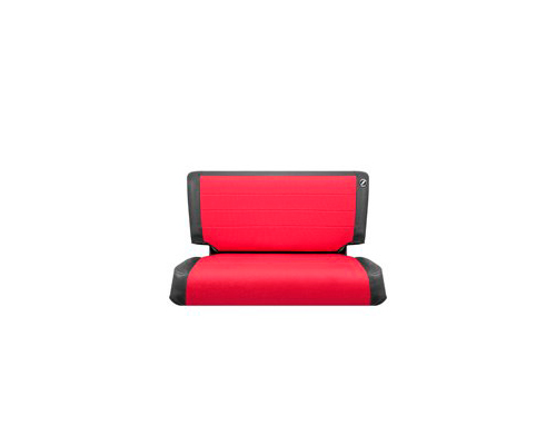 Corbeau TJ 03 06 Jeep Seat CoversBlack Vinyl Red Cloth 82017