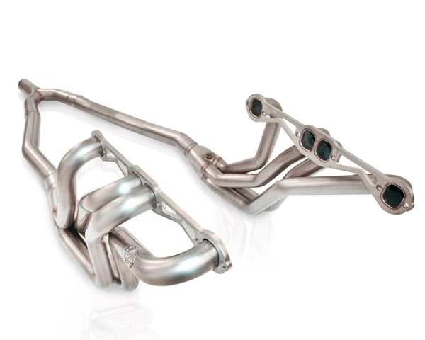 Stainless Works 1.75in Primary | 2.5in Collector Headers with Y-Pipe Chevrolet Camaro SB V8 Auto Trans 82-92 - 8292175