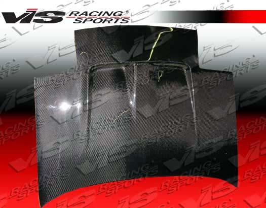 VIS Racing Carbon Fiber Techno R Hood Toyota MR2 85-89 - 85TYMR22DTNR-010C