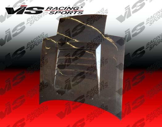VIS Racing Carbon Fiber Drift Hood Mazda RX7 86-91 - 86MZRX72DDFT-010C
