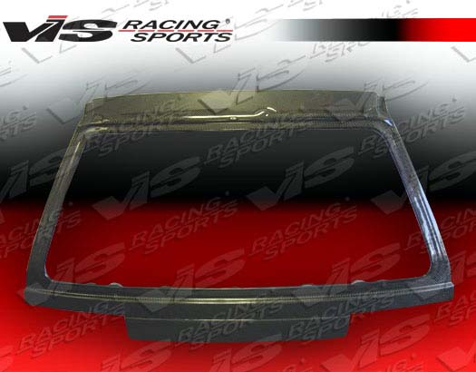 VIS Racing Carbon Fiber OEM Hatch Trunk Lid Honda Civic 88-91