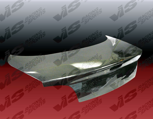 VIS Racing Carbon Fiber OEM Trunk Lid Nissan 240SX 89-92 - 89NS2402DOE-020C