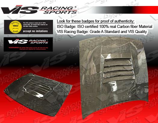 VIS Racing Carbon Fiber Drift Hood Nissan S13 89-94
