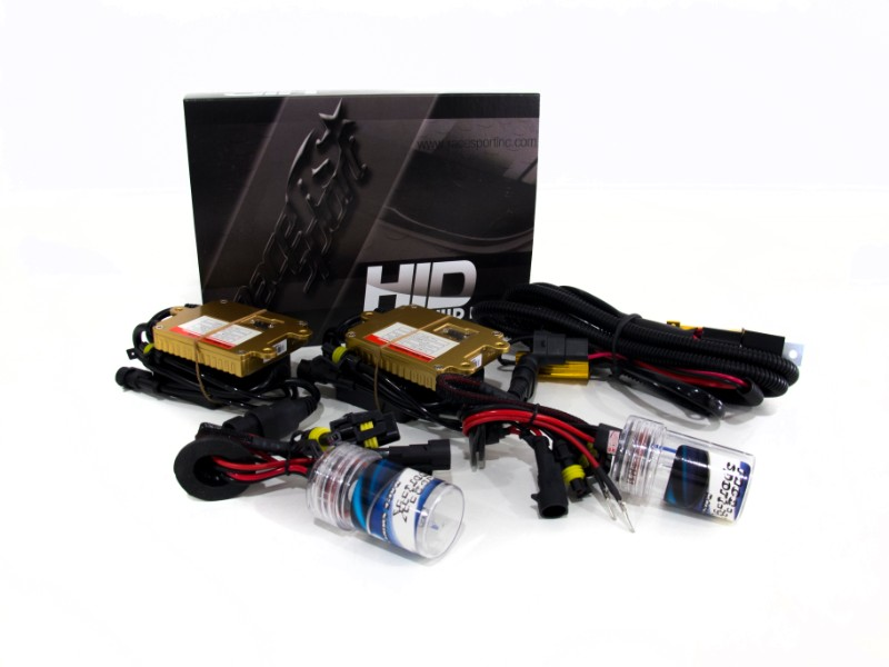 Race Sport Lighting 9005 GEN4 5K HID Conversion Headlight Kit with Canbus Functionality - 9006-5K-G4-CANBUS-R