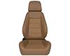 Image of Corbeau Sport Reclining Seat in Tan Vinyl Cloth 90066