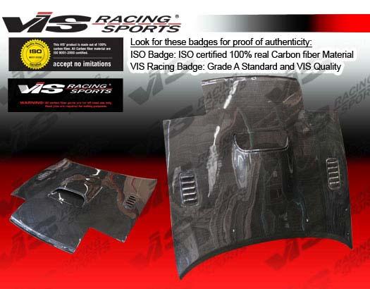 VIS Racing Carbon Fiber AT Hood Toyota Celica 90-93 - 90TYCEL2DAT-010C