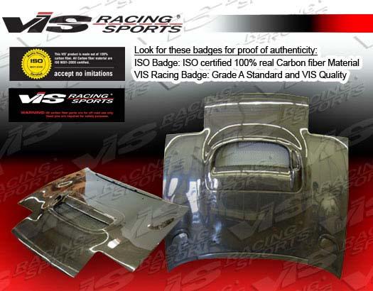 VIS Racing Carbon Fiber CS Hood Toyota Celica 90-93 - 90TYCEL2DCS-010C