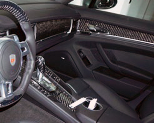 Mansory Carbon Fiber Interior Trim Kit Porsche 991 Turbo | Turbo S - 911 300 001
