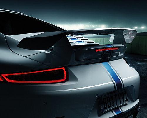 Image of TechArt Aero Wing Trims Porsche 991 Turbo S 14-15