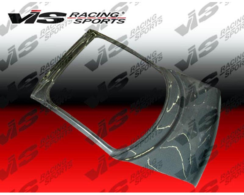 VIS Racing Carbon Fiber OEM Hatch Trunk Lid Mitsubishi 3000GT 91-98 - 91MT3K2DOE-020C