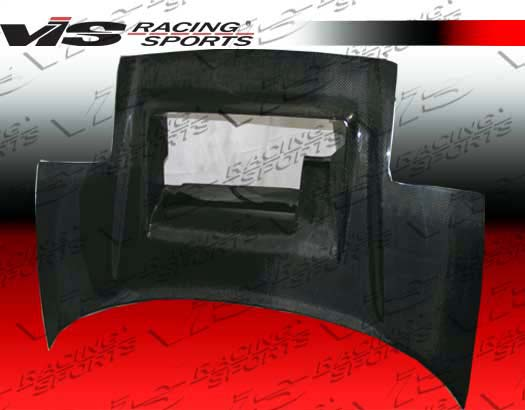 VIS Racing Carbon Fiber Super GT Style Hood Acura NSX 91-01 - 91ACNSX2DSGT-010C
