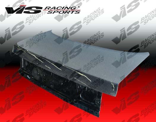 VIS Racing Carbon Fiber OEM Trunk Lid Honda Accord 92-93 - 92HDACC2DOE-020C
