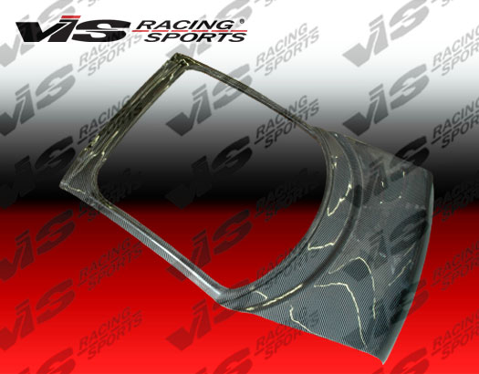 VIS Racing Carbon Fiber OEM Hatch Trunk Lid Mazda RX7 93-96 - 93MZRX72DOE-020C