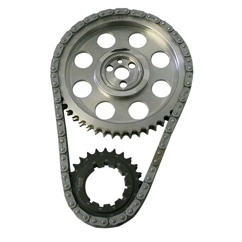 Double Roller Timing Chain Set; Chevy 454-502 (Gen 6) 9-Keyway Howards Cams 94309 - 94309