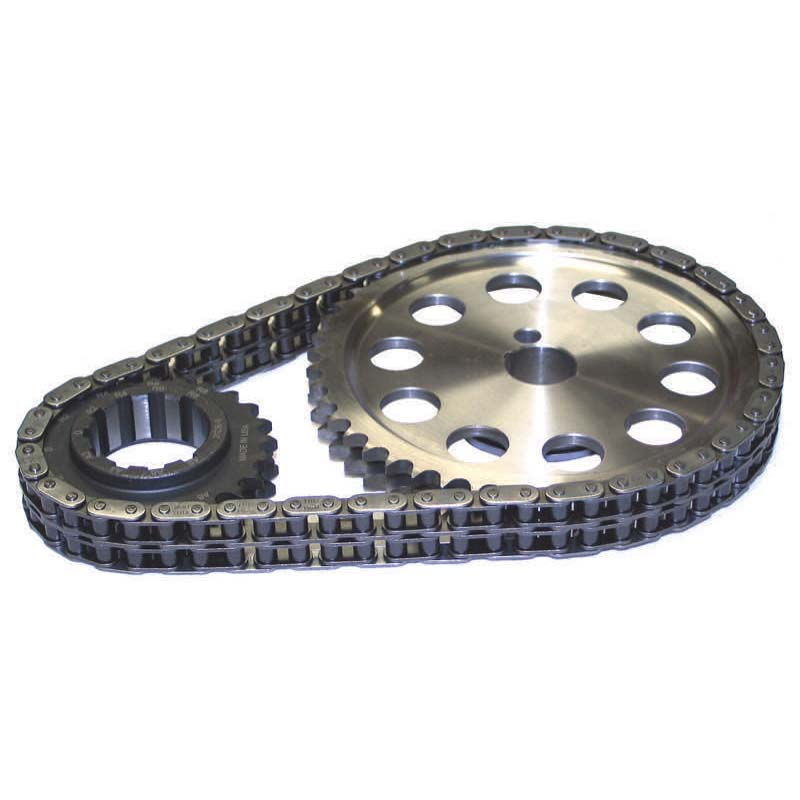 Double Roller Timing Chain Set; Ford 351C, 351M, 400 9-Keyway Howards Cams 94320 - 94320