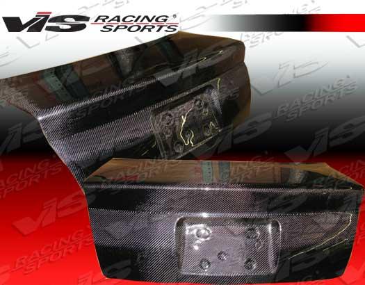 VIS Racing Carbon Fiber OEM Trunk Lid Audi A4 96-01 - 96AUA44DOE-020C