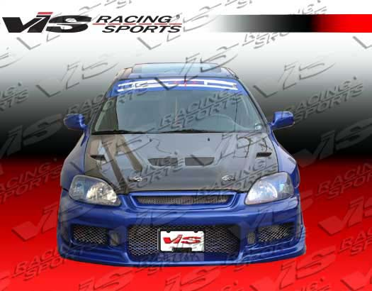 VIS Racing Carbon Fiber EVO Hood Honda Civic 96-98 - 96HDCVC2DEV-010C