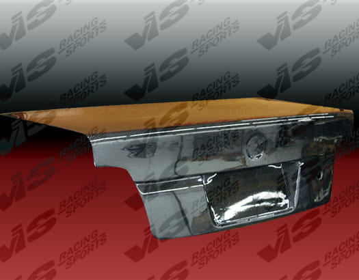 VIS Racing Carbon Fiber OEM-Euro Trunk Lid BMW 5-series E39 97-03 - 97BME394DOE-020C