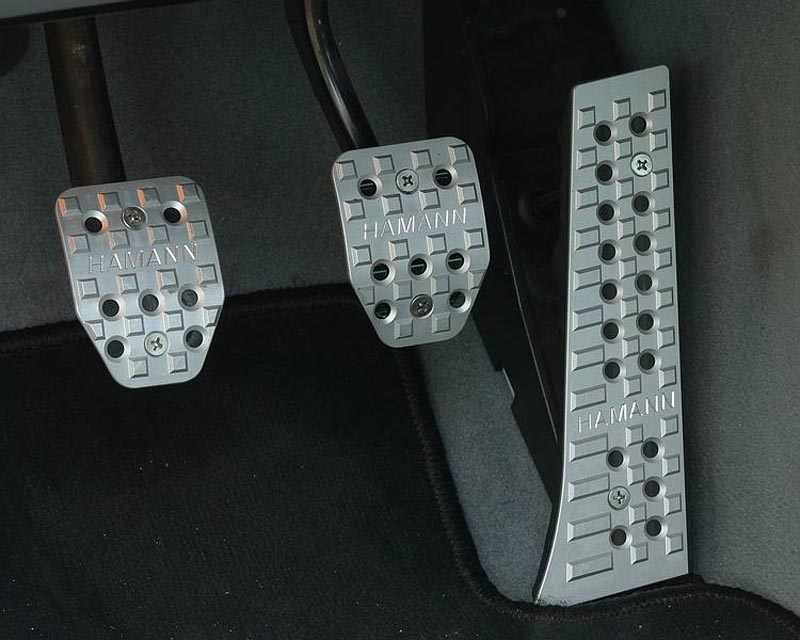 Hamann Foot-Pedal Set 997 Gt3 Rs 09+
